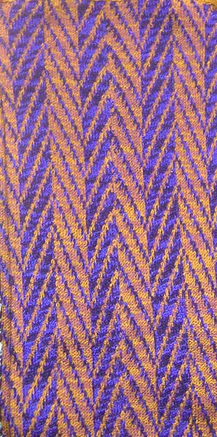 fabric stripe for knitters