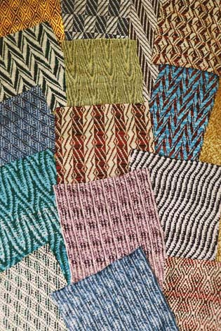 Fabric Weaves for knitters