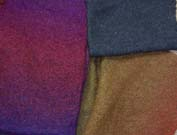 knitted felt fabric