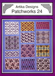Patchwork knitted designs