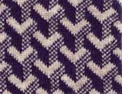 Optical knitting design