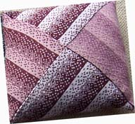 Tones pink cushion